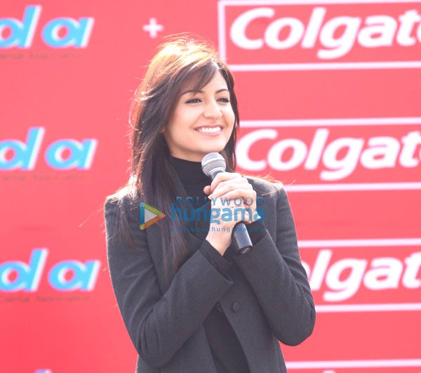 Sweet Anushka Sharma at Colgate & IDA's Guinness World Record event