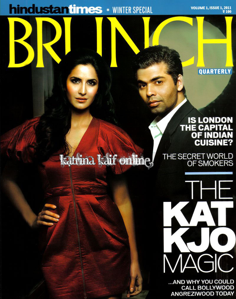 Katrina Kaif &amp; KJO Brunch HQ Mag Scans 