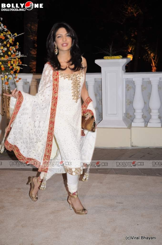 Priyanka Chopra at Imran Avantika Wedding Reception