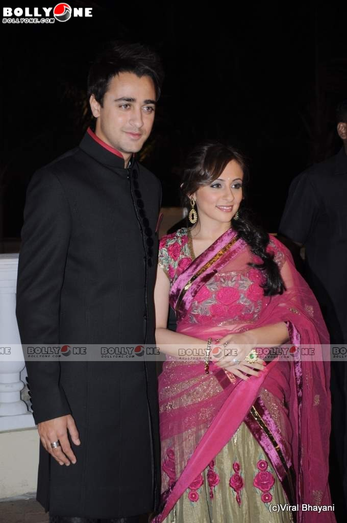  Imran Khan &amp; Avantika Khan Malik Wedding Reception Pics