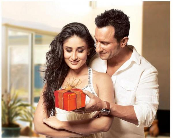 bollybreak_com_ad -  Kareena Kapoor And Saif Ali Khan In New Airtel Ad