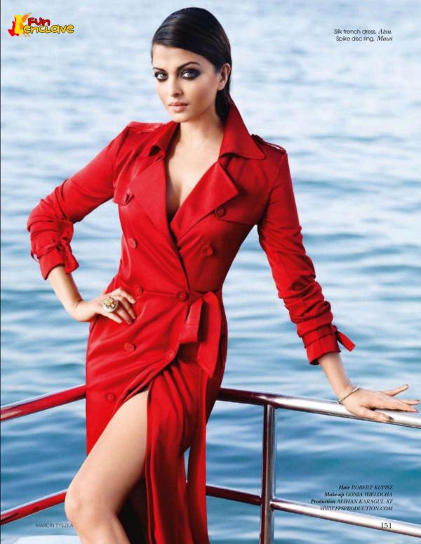  Red HOT Aishwarya Rai&#39;s Vogue photoshoot Feb 2011