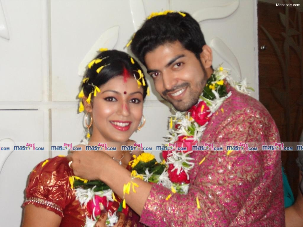 TV Babe Debina and Gurmeet's Wedding Ceremony Pics