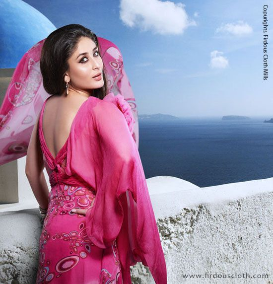 Kareena  -  Kareena Photoshoot for Firdous Cloth Mills