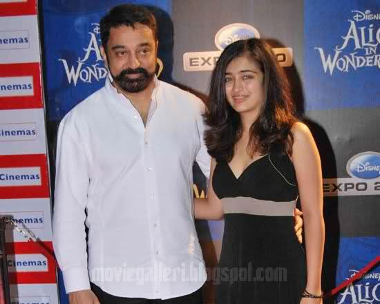 Kamal Hassan Younger Daughter to Join Bollywood - Pics