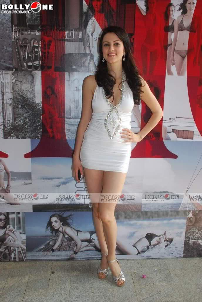 Milky Yana Gupta in Sexy White Dress