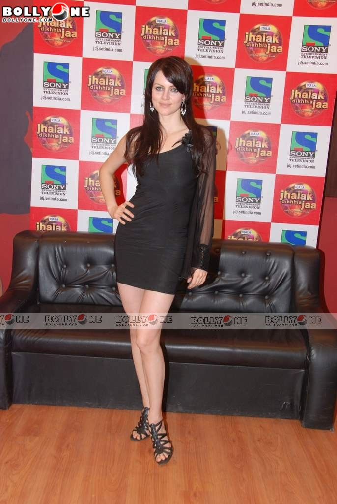 Hot Yana Gupta on the sets of Jhalak Dikhla Ja