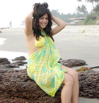 , Shenaz Treasurywala Hot Bikini Pics from Beach