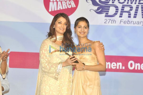 Aishwarya Rai -  Aishwarya at the Lavasa Women's car rally prize distribution
