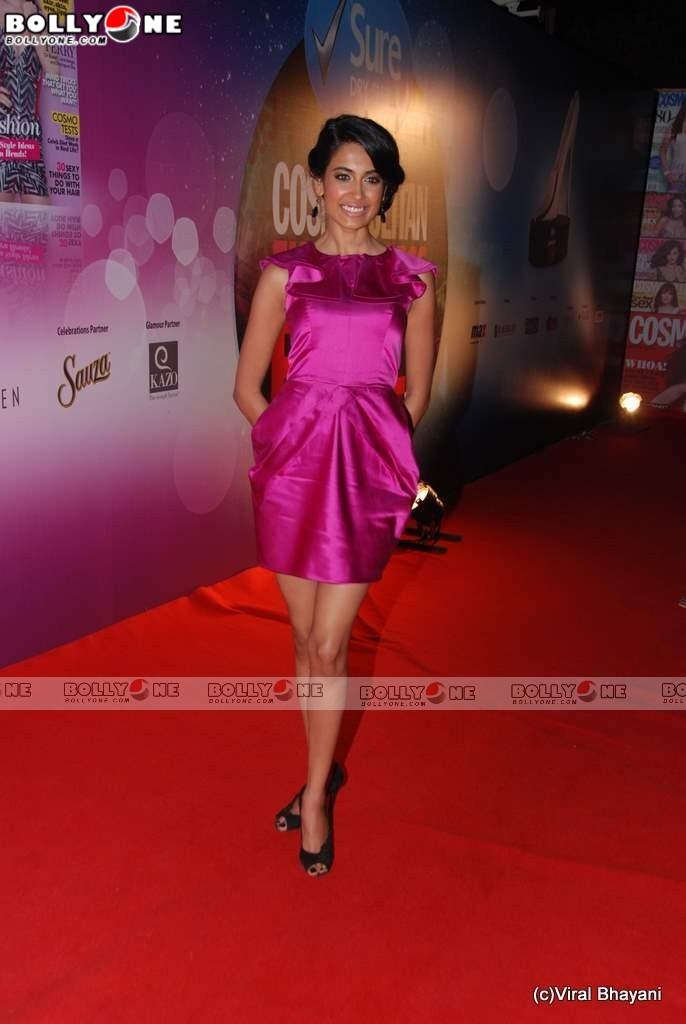 Sarah-Jane Dias at Cosmopolitan Awards
