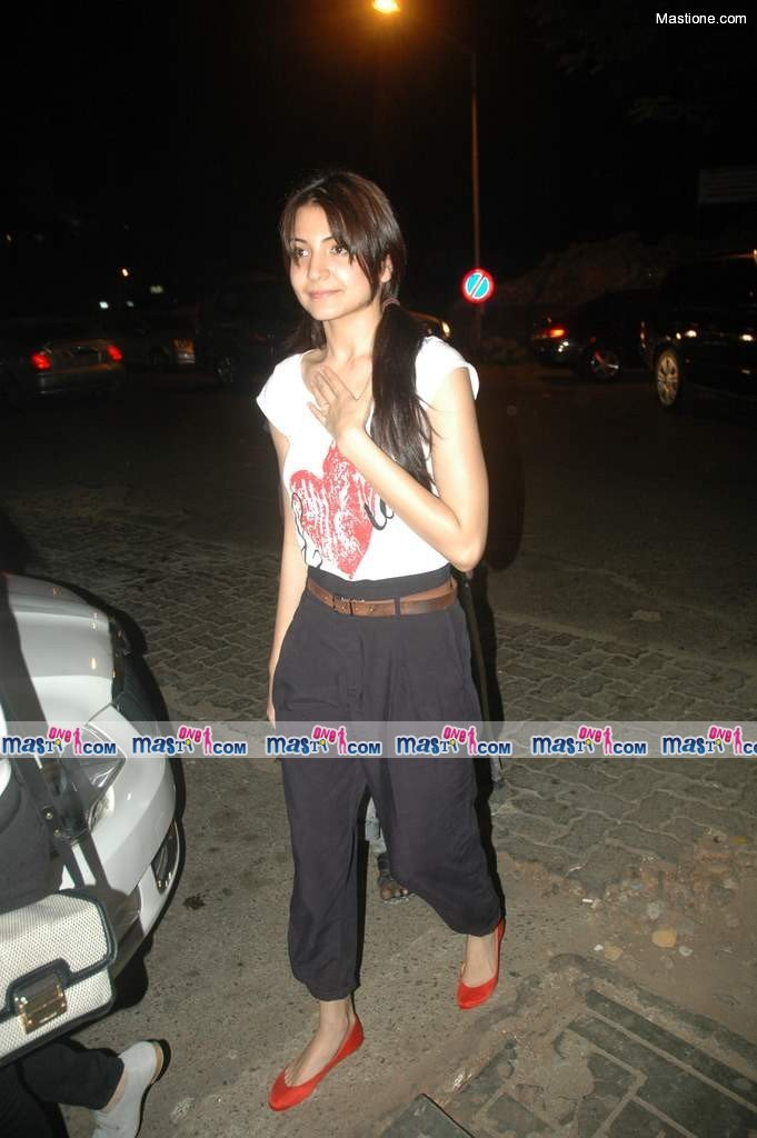 Anushka Sharma at MultiPlex