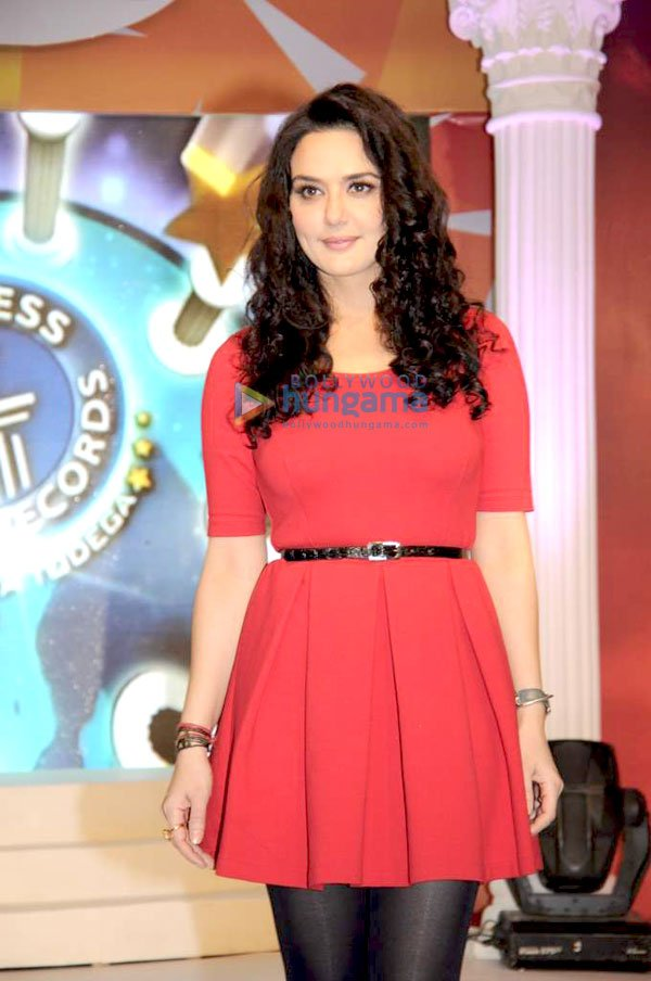 Preity Zinta at Guinness World Records India Todega press meet -