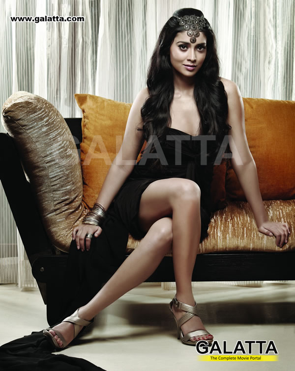 Shriya Saran Hot Galatta Magazine Scans