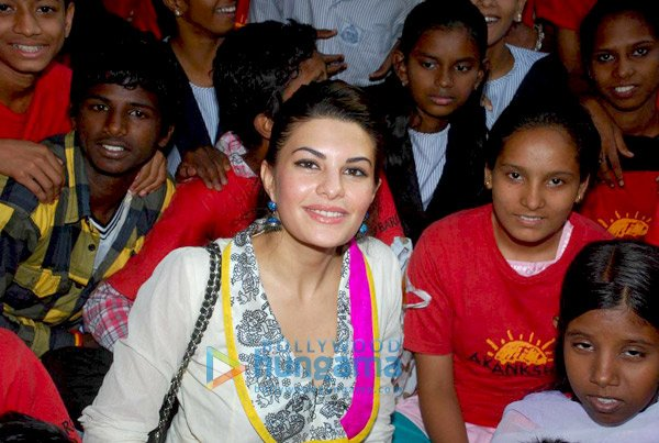 , Jacqueline Fernandez at Akanksha Foundation Event