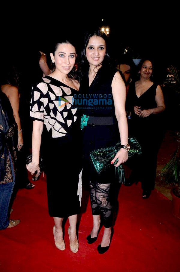 Karisma Kapoor at the night Arena Polo event