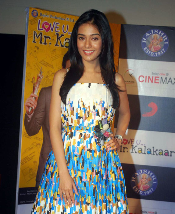 Amrita Rao at Love U Mr. Kalakaar Audio Launch