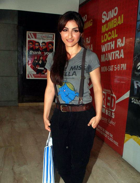 Hot Soha Ali Khan at World Cinema Card Launch