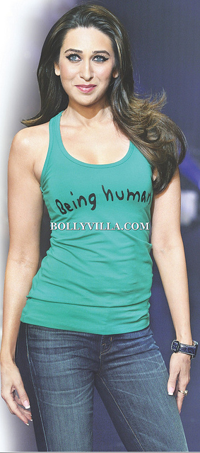 Karishma Kapoor -  Karishma Kapoor in Being Human Tank Top