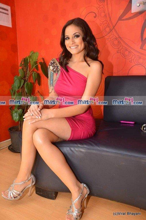 Catrina Lopez Hot Photoshoot in Red Dress