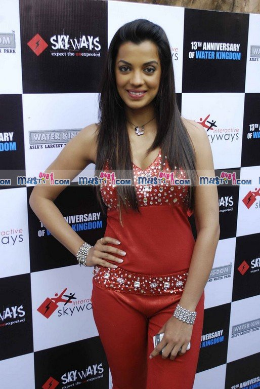 Mugdha Godse sizzles at Esselworld Celebrations