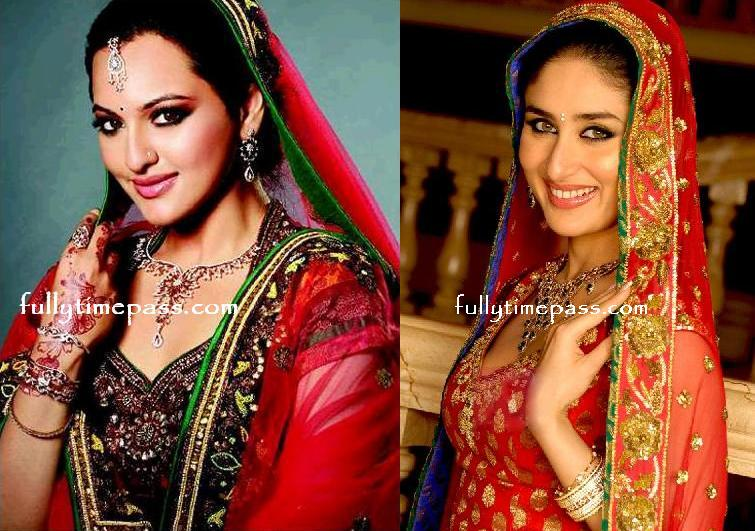 Sonakshi for D&#39;damas and Kareena for Gitanjali