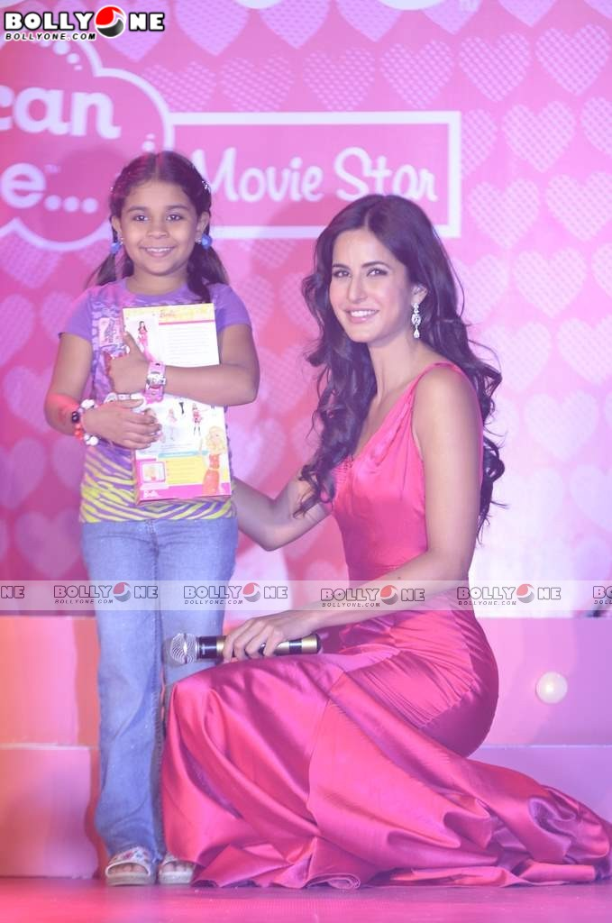 Red Hot Katrina Kaif launches her new Barbie doll