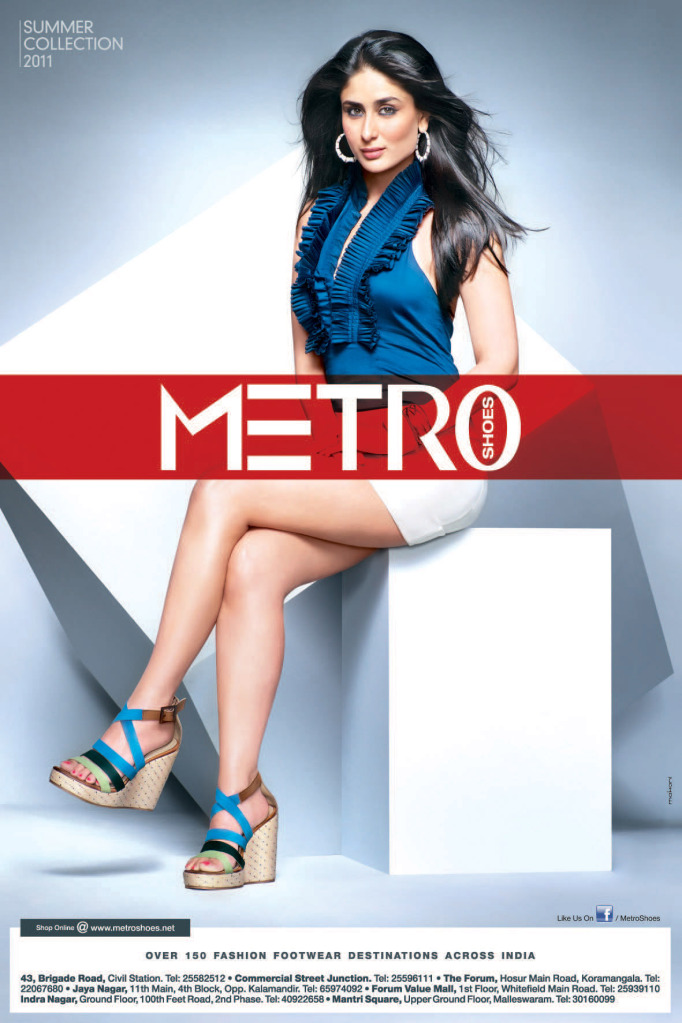  Kareena Kapoor Exclusive HQ pics of Metro Shoes Ad