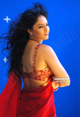  Nikhisha Patel -  Nikhisha Patel Hot Stills in Red Saree