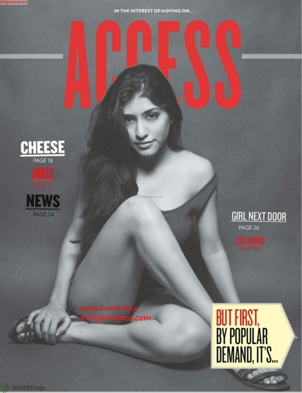 Kainaz Motivala Hot Pics - Ragini MMS Actress FHM Magazine Scans