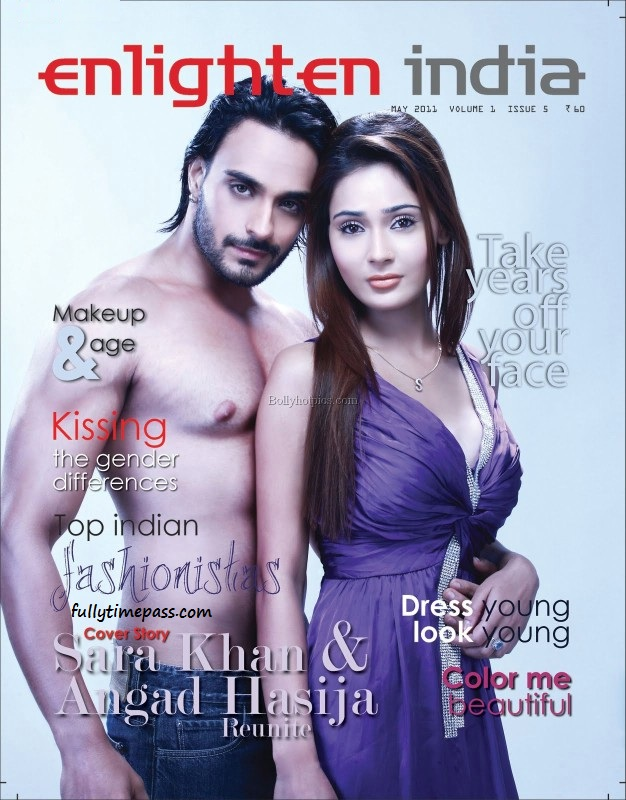 Sara Khan Hot Magazine Scans