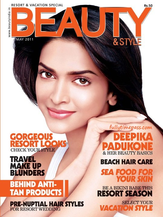 Deepika Padukone Poses for Beauty Style Magazine May 2011