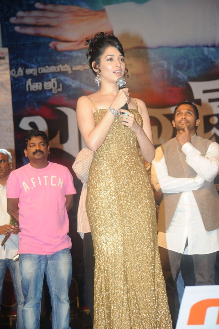 Golden Girl Tamanna Stills From Badrinath Audio Launch