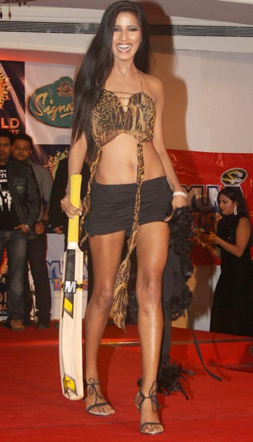 Poonam Pandey Bikini Calendar  -  Poonam Pandey Bikini Calendar Launch Pics