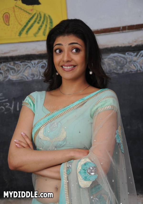 Kajal Aggarwal Latest Hot Pics in Saree