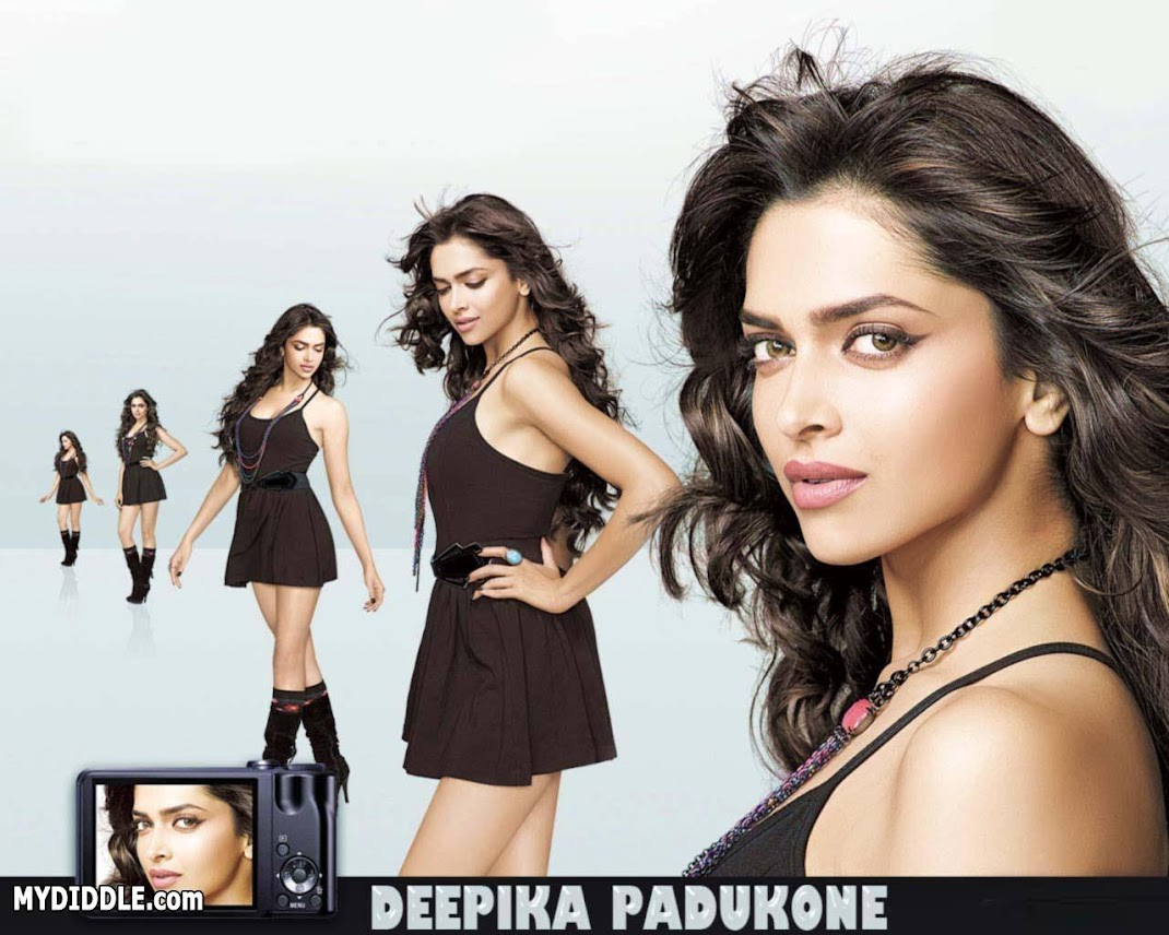 Deepika Padukone in a Short Sexy Dress
