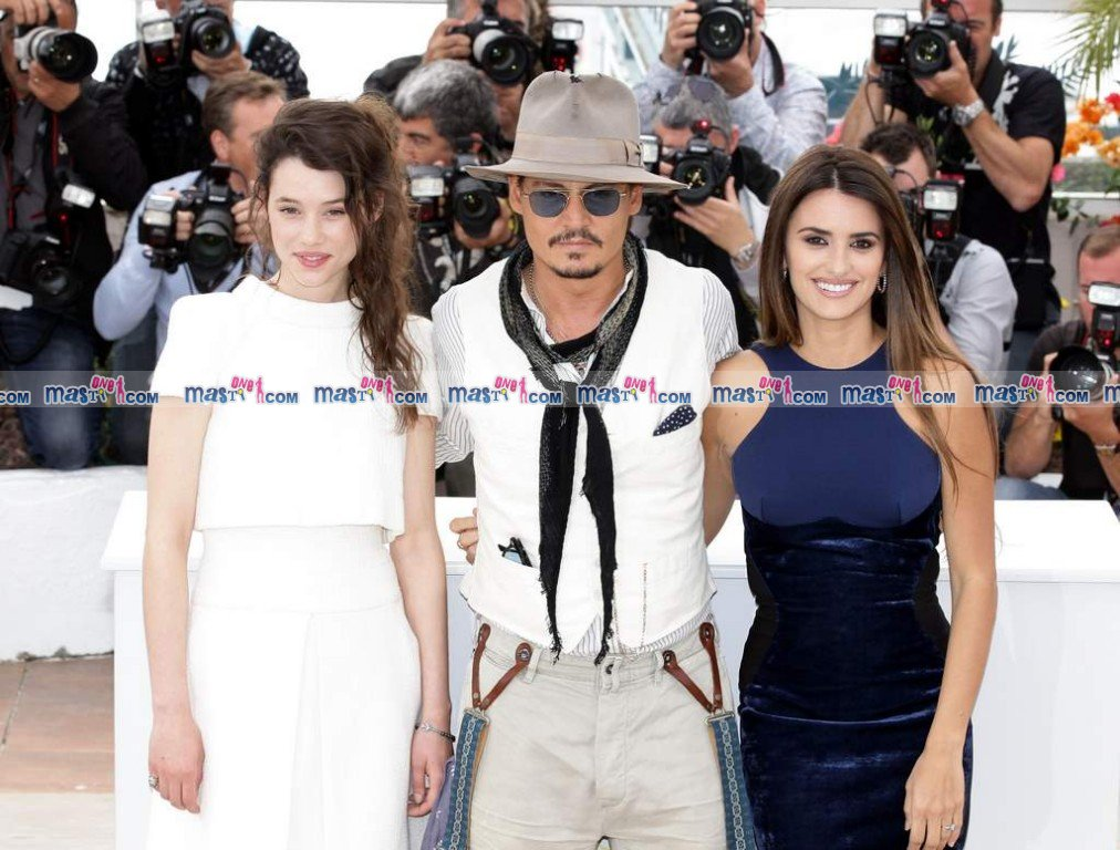 Cannes  - Pirates of the Carribean starCast at Cannes Premiere