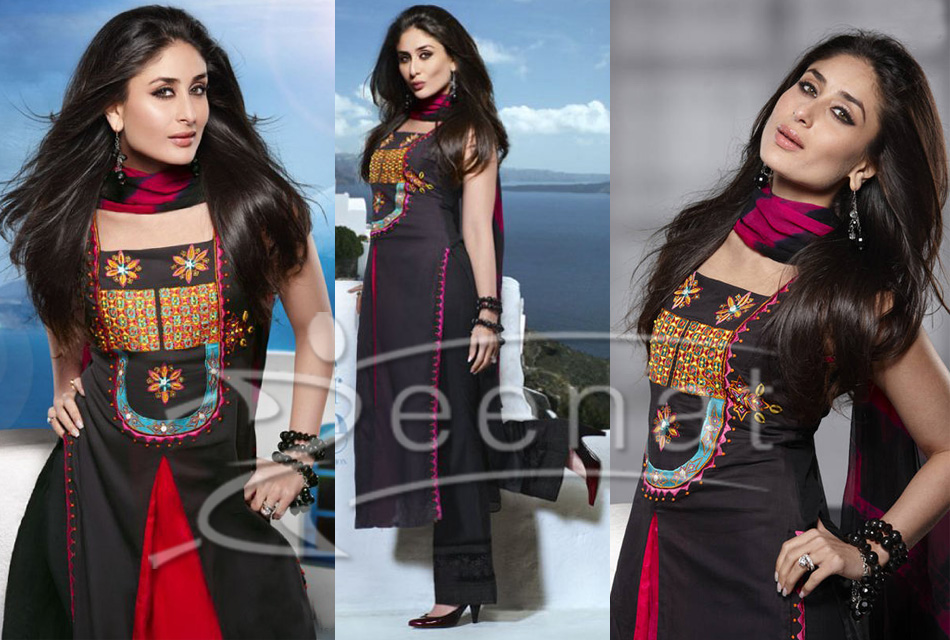 Kareena Kapoor - Kareena Kapoor Anarkali Suits Pics - Designs Stills