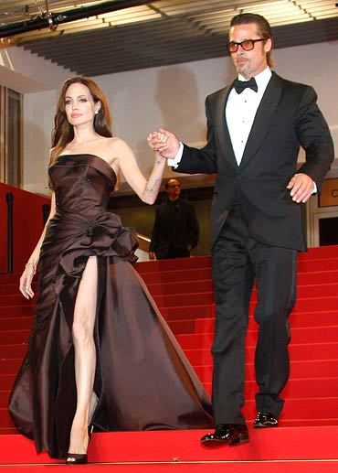 Angeline Jolie - Brangelina in Cannes