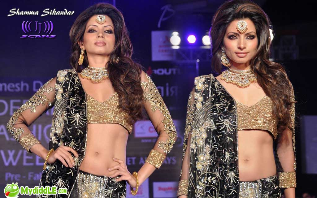 Shama Sikandar - Hot Shama Sikandar walks on the ramp