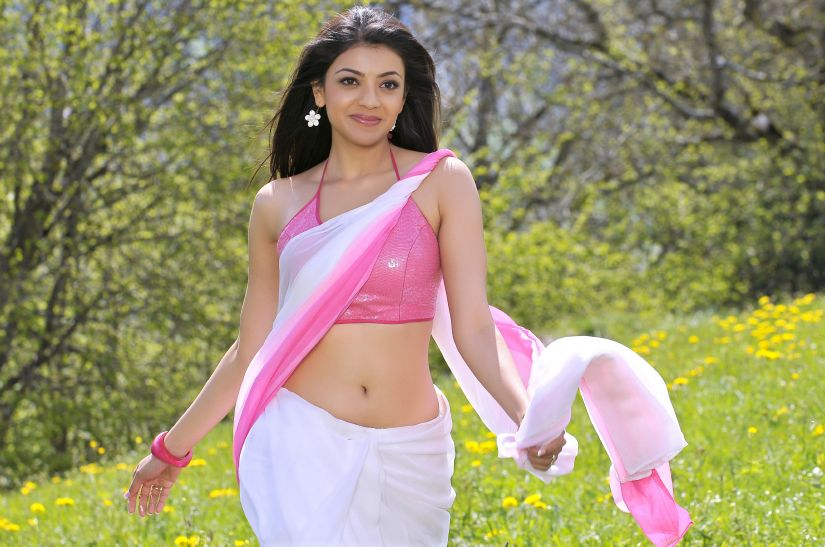 Kajal Agarwal in A Sexy Saree - Hot Pic