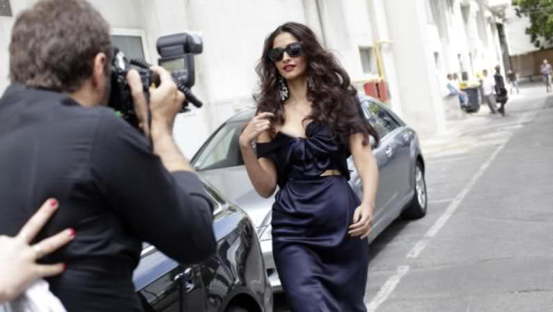 Sonam Kapoor - Hot Sonam Kapoor at Cannes in Sexy Gown
