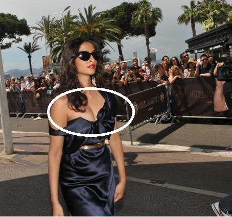 Sonam Kapoor - Sonam Kapoor had a Wardr0be Malfuncti0n at Cannes