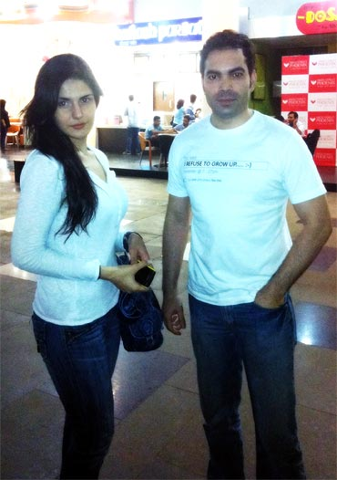 , Hot Zarine Khan In Mumbai
