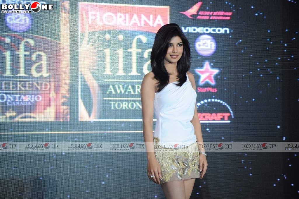 , Hot Priyanka Chopra At Iifa Press Meet