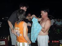 Checking correct way to wear a t-shirt