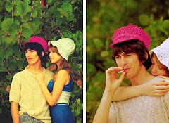 George Harrison with his first wife, Pattie Boyd