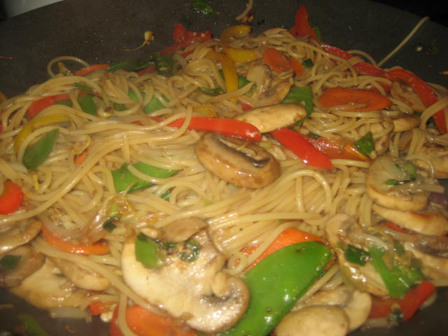 food calories chinese homemade mein