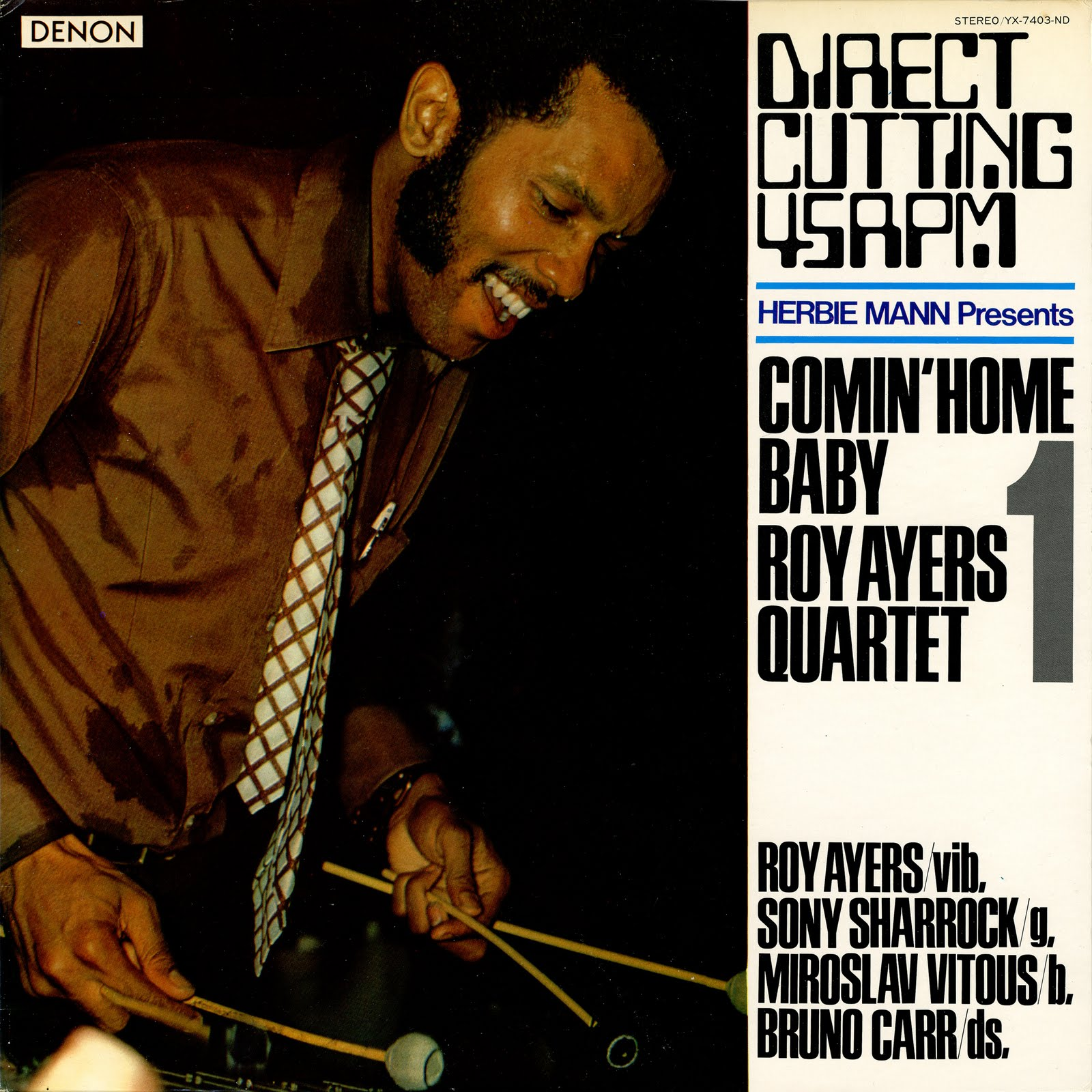 Roy Ayers Quartet Comin Home Baby