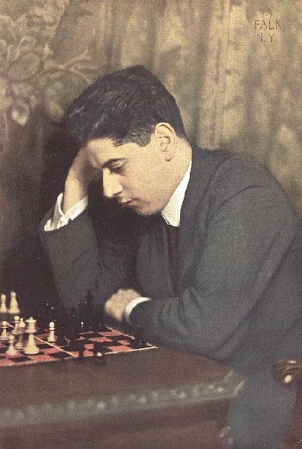 Jose Raúl Capablanca. Excampeón Mundial