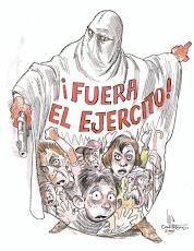 NUNCA EL EJERCITO CONTRA EL PUEBLO, BASTA DE TRAICION!!